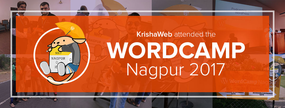 KrishaWeb visited WordCamp Nagpur 2017